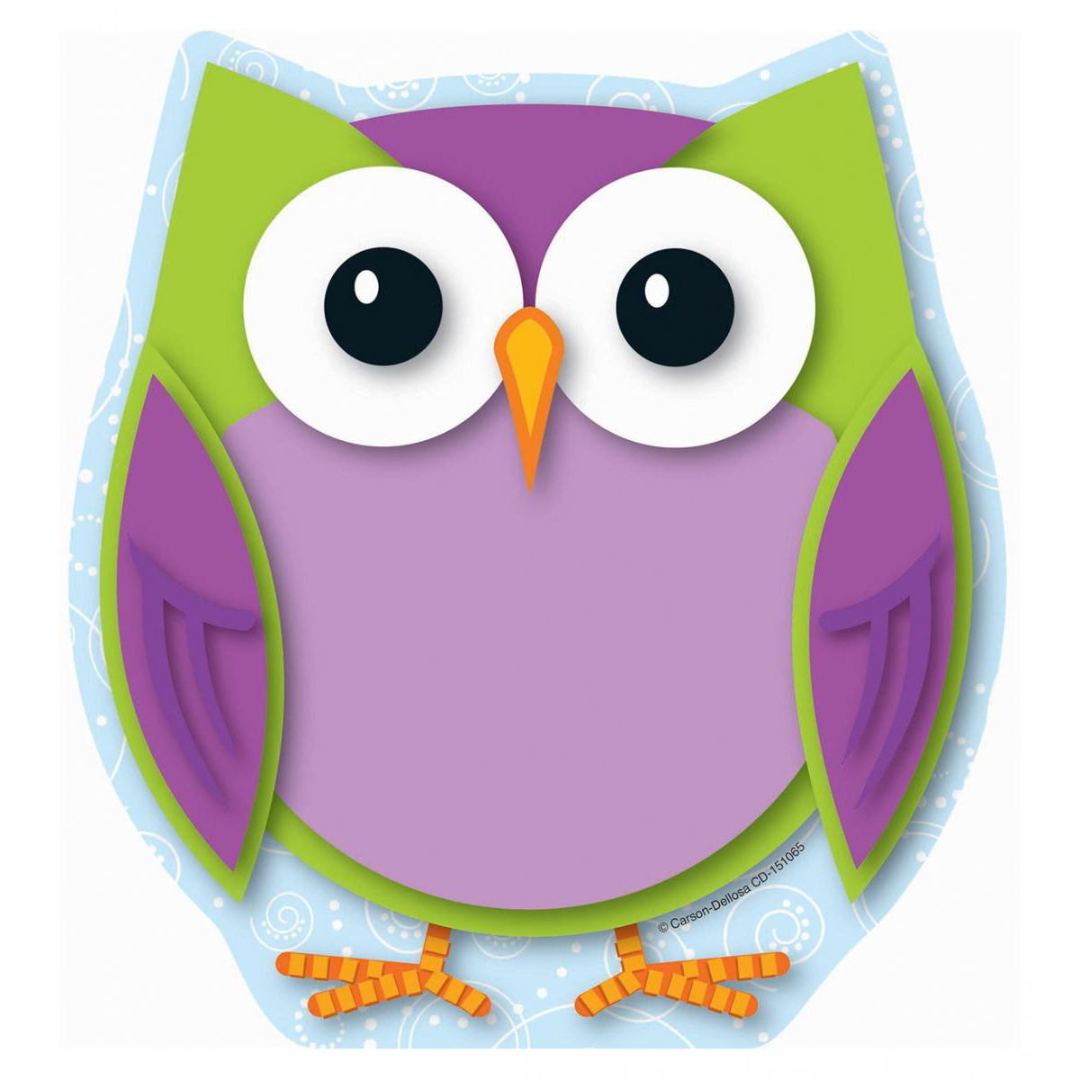 Colourful Owls Notepad