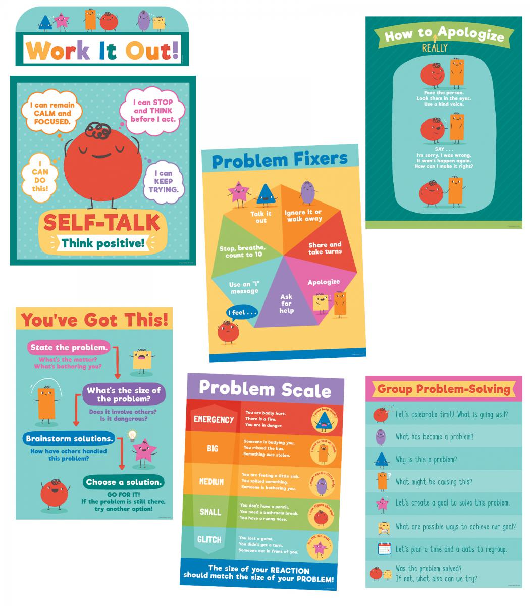 Social Emotional Learning Bulletin Board Set
