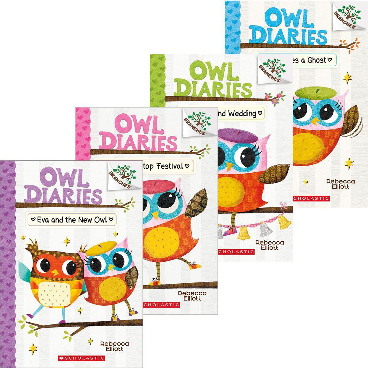 Owl Diaries #1–-#6 Pack