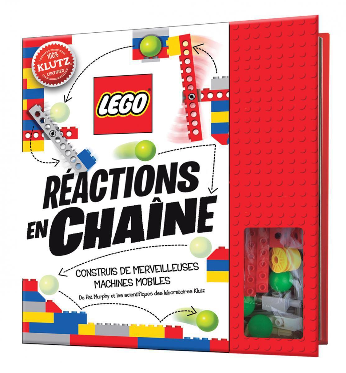 Klutz: LEGO® Réactions en chaîne Construis de merveilleuses machines mobiles