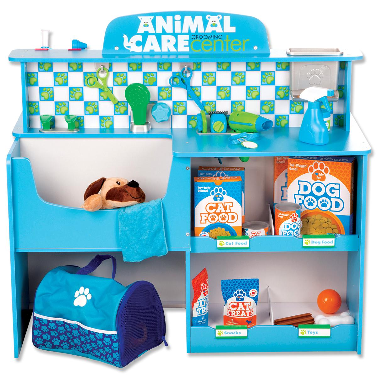 Centre pour animaux de compagnie en bois