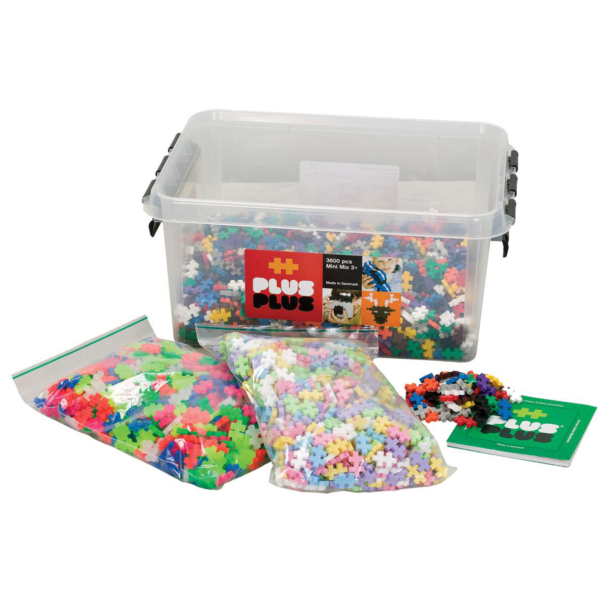 Plus Plus Construction Sets (3,600 Mini pieces)