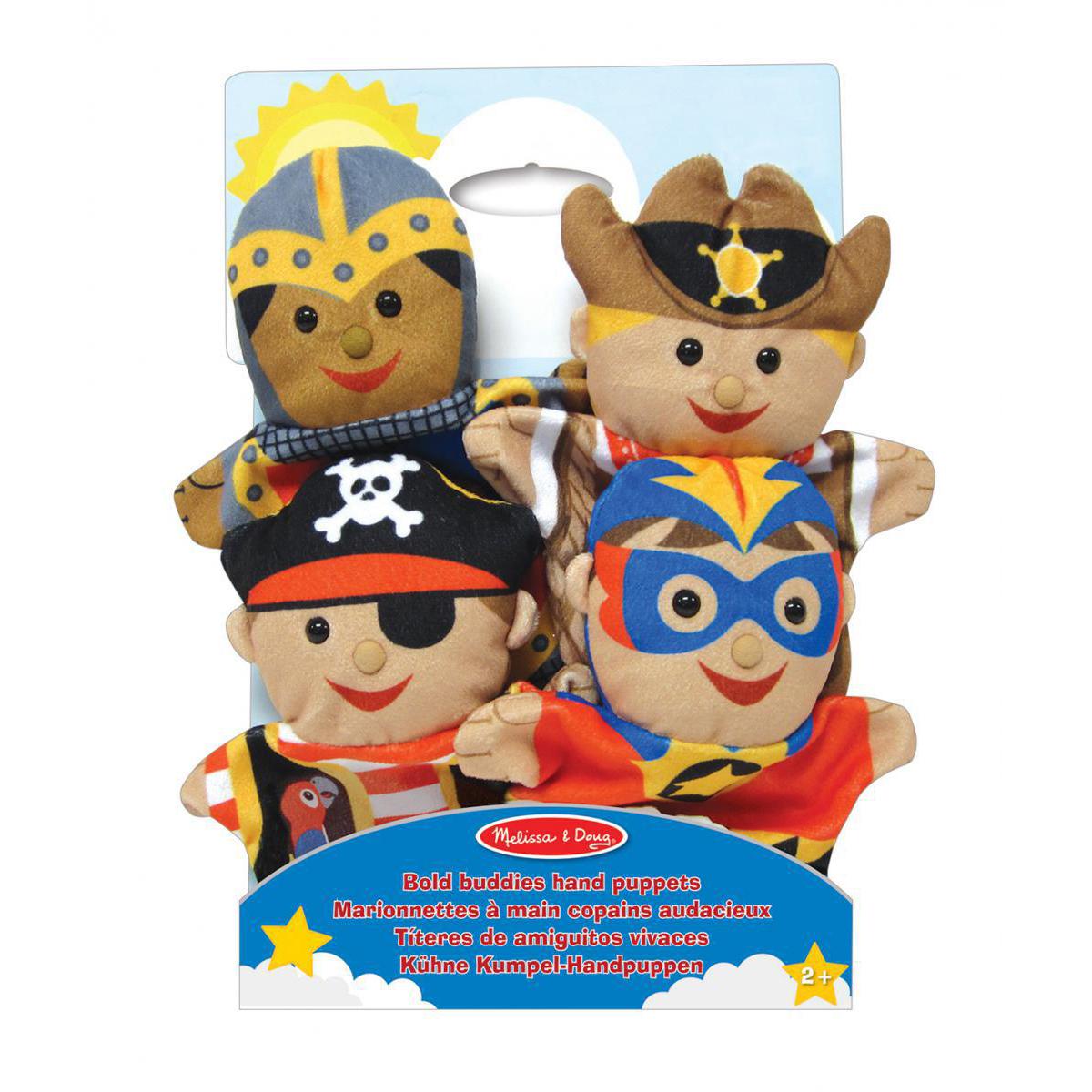 Bold Buddies Hand Puppets