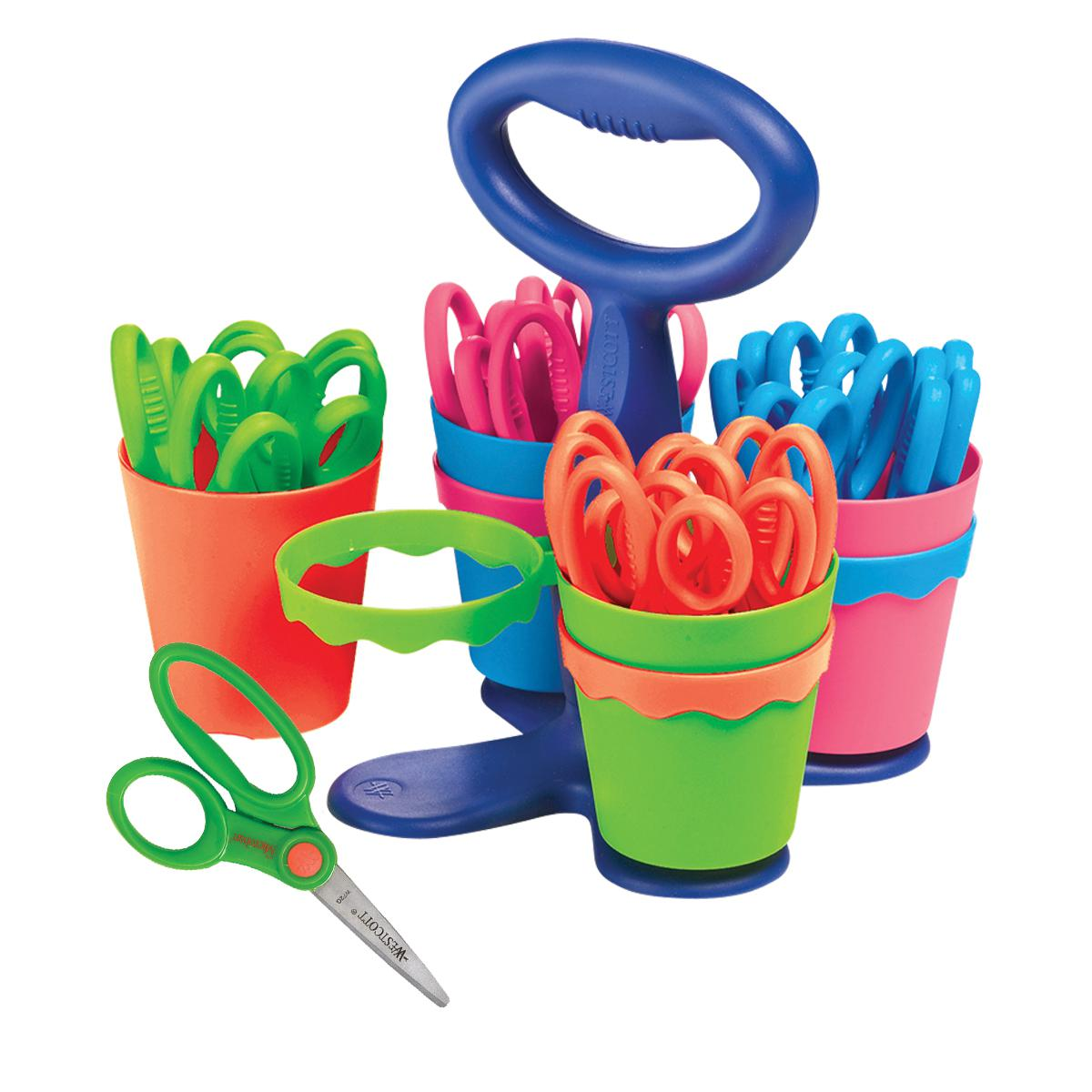 Pointed Classroom Scissor Caddy