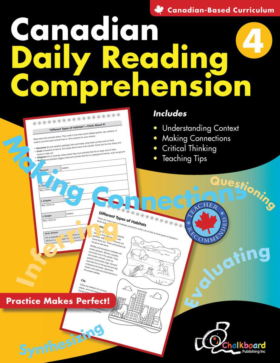 Canadian Daily Reading Comprehension Gr. 4