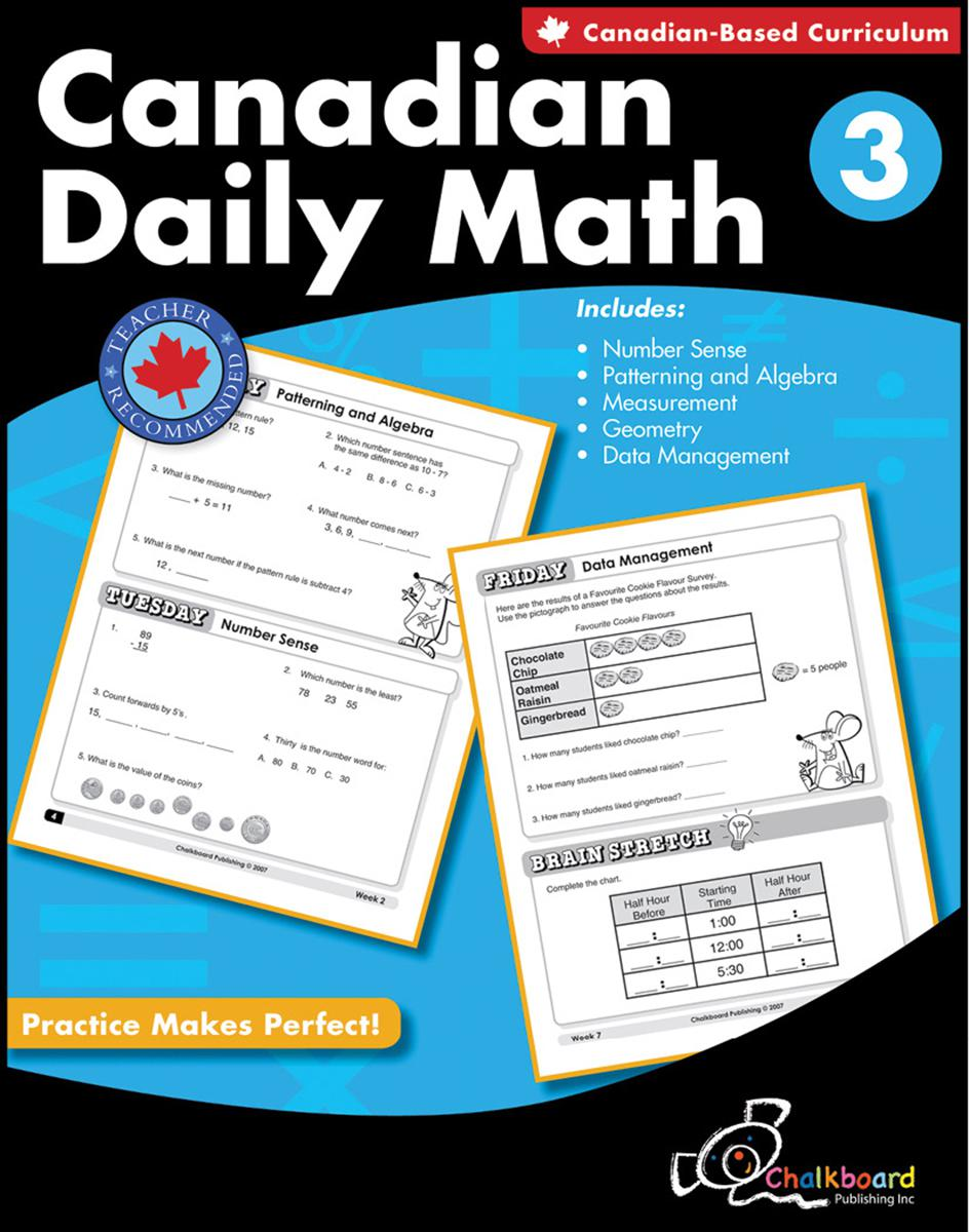 Canadian Daily Math Gr. 3