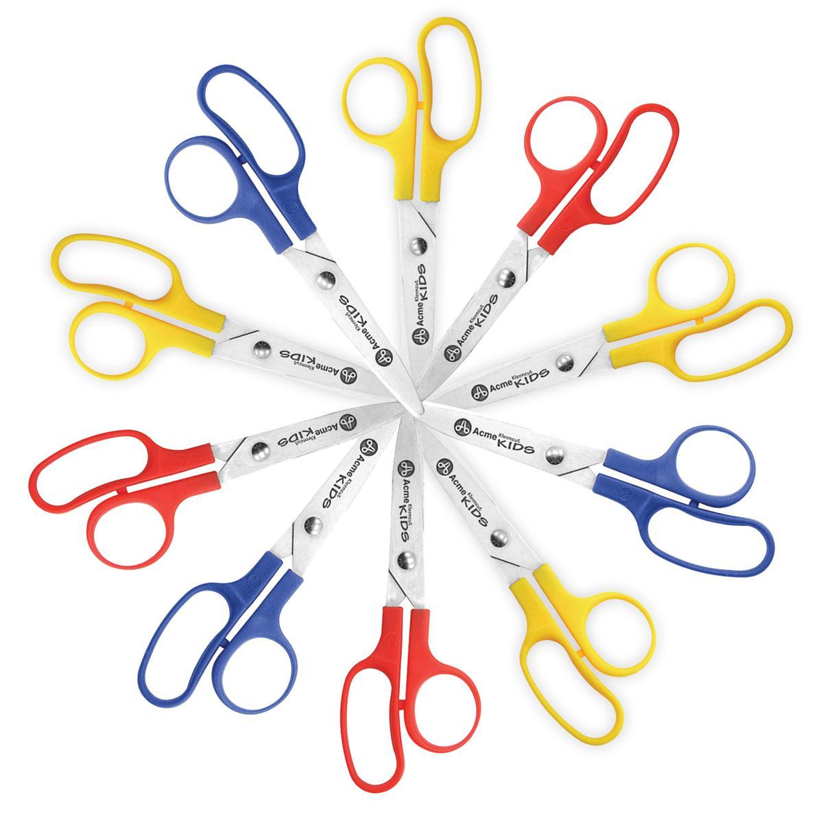 Blunt Scissors 10-pack