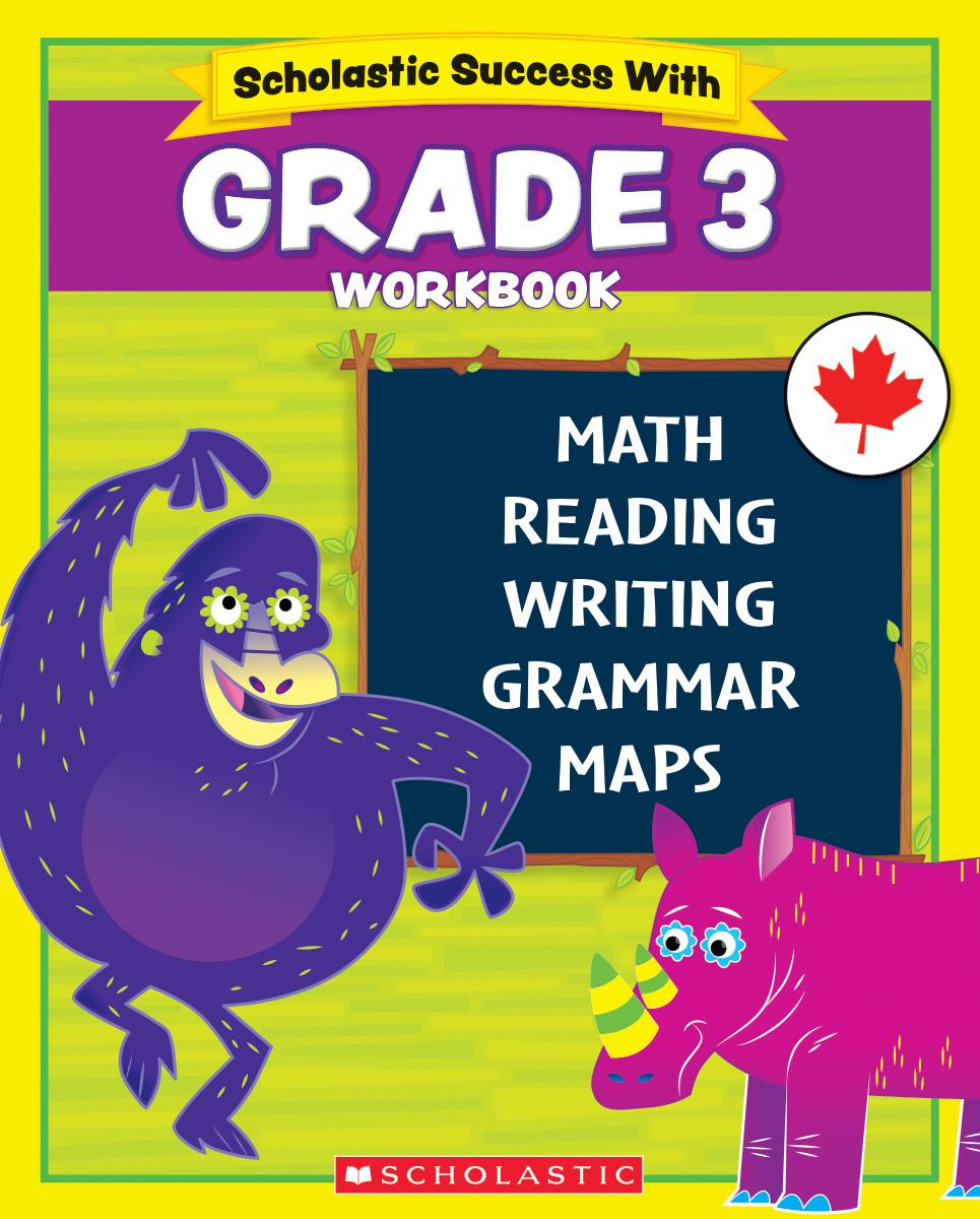 Scholastic Success With Grade 3 Workbook