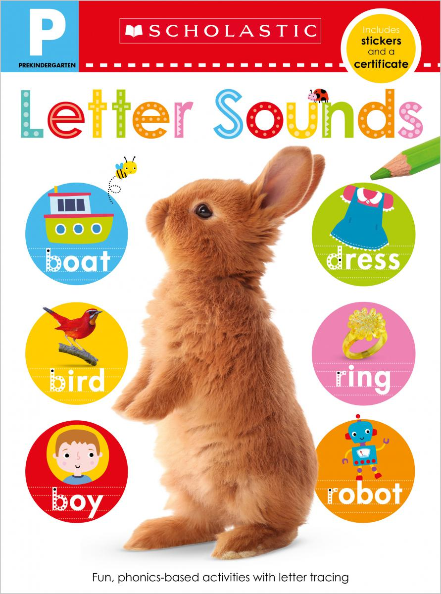Scholastic Early Learners: Pre-K Skills Workbook: Letter Sounds