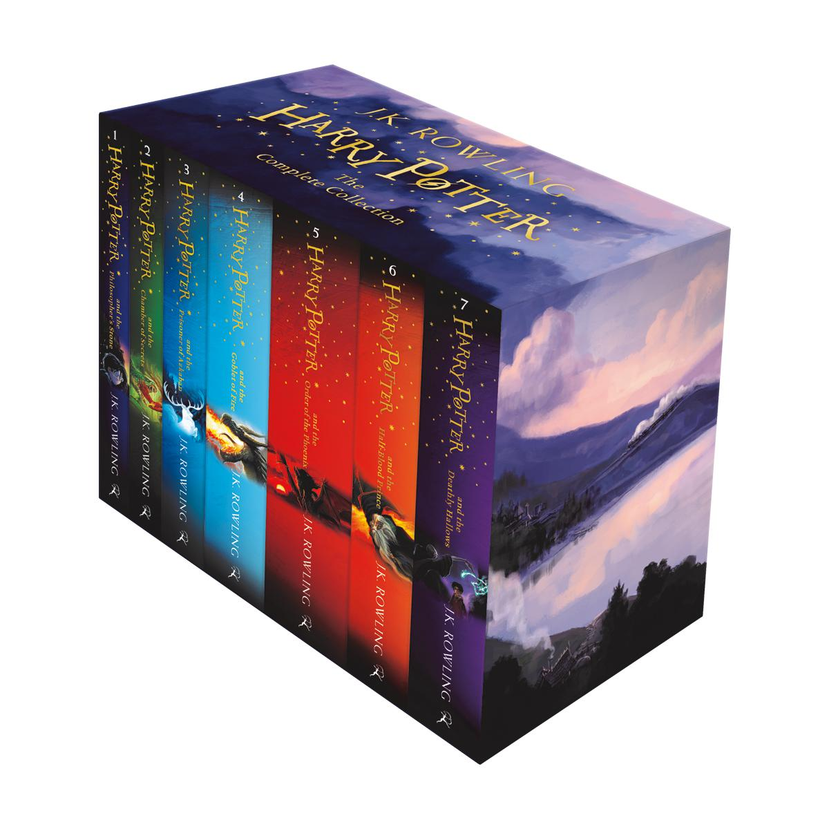 Ensemble de livres Harry Potter