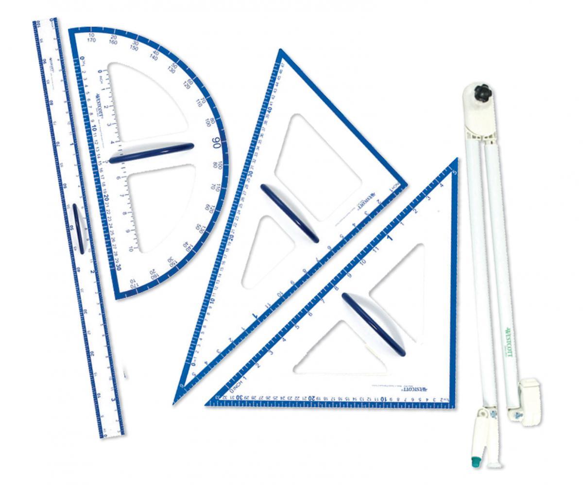 Ensemble de géométrie géant (5)