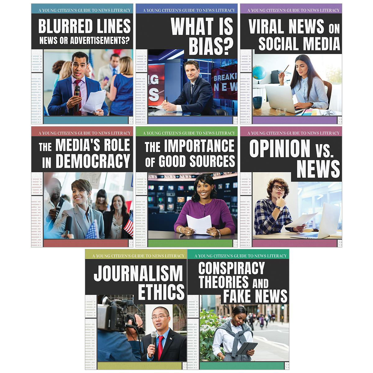 A Young Citizen's Guide to News Literacy 8-Pack