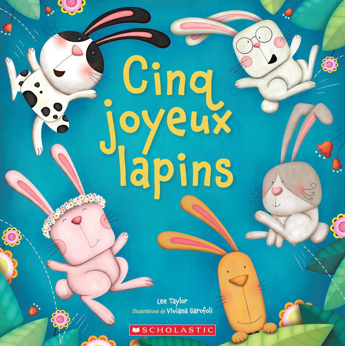 Cinq joyeux lapins