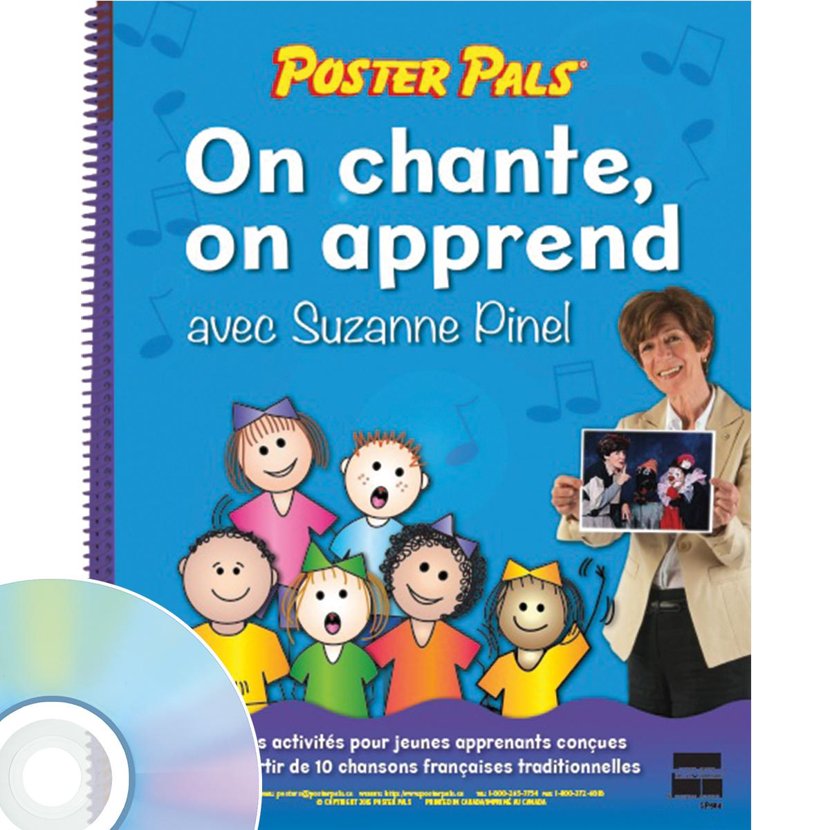 On chante, on apprend avec Suzanne Pinel Book & CD