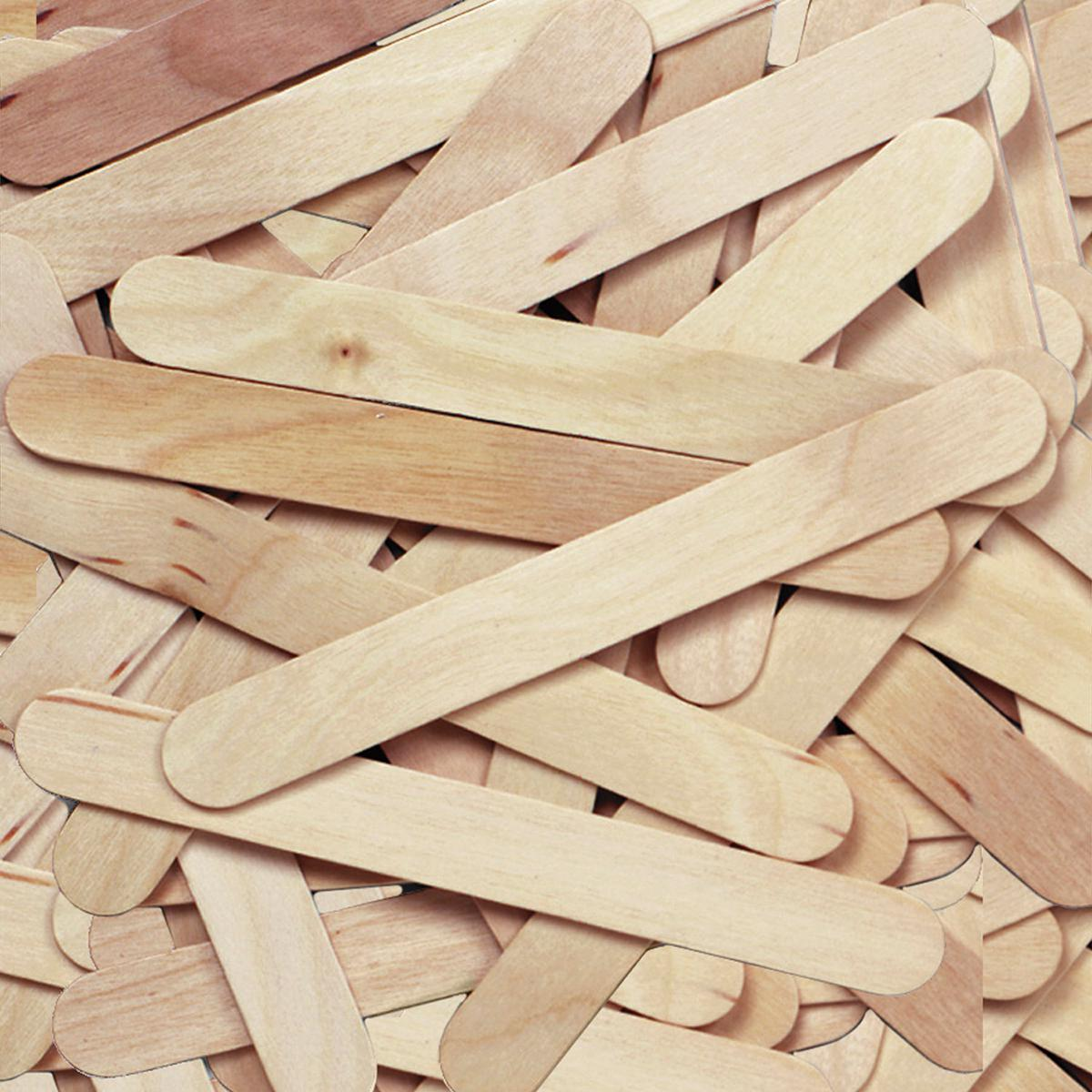 Wooden Jumbo Craft Sticks