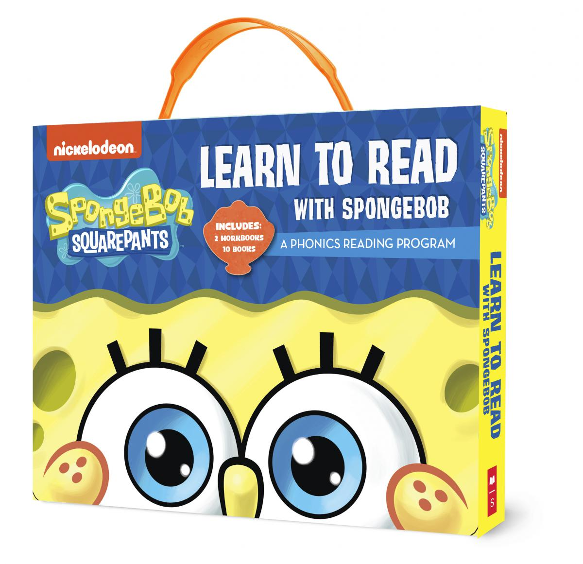SpongeBob Squarepants: Learn to Read with SpongeBob Phonics Boxed Set