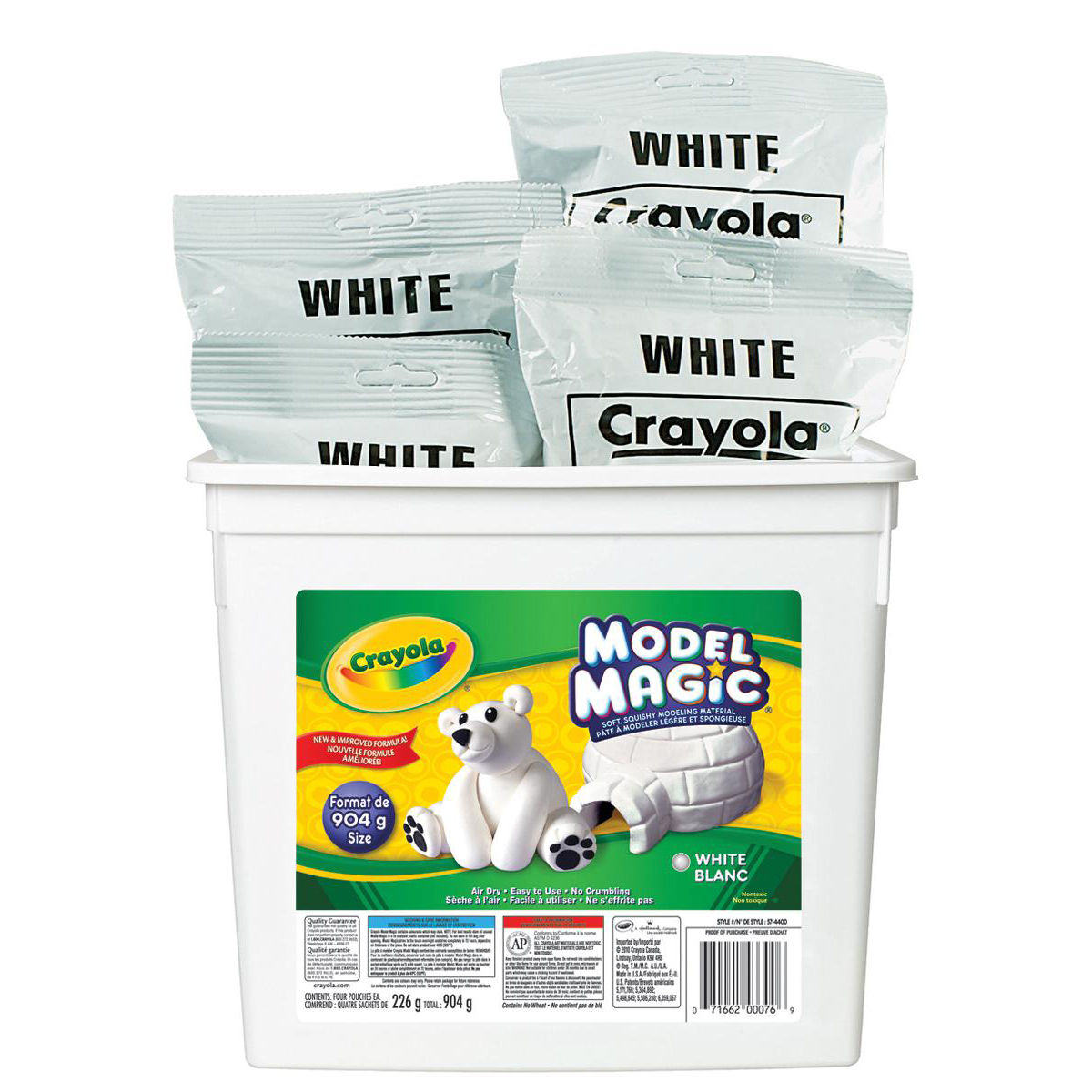 Crayola® Model Magic: contenant de 2 livres, blanc