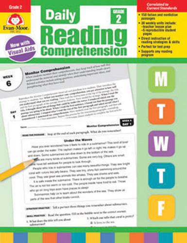Daily Reading Comprehension: Grade 2
