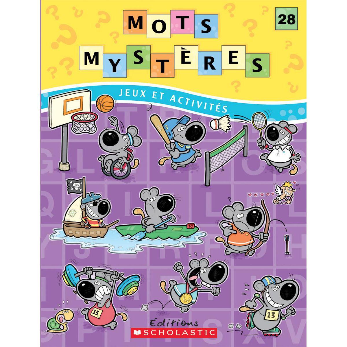 Livres-cadeaux Mots mystères n° 28
