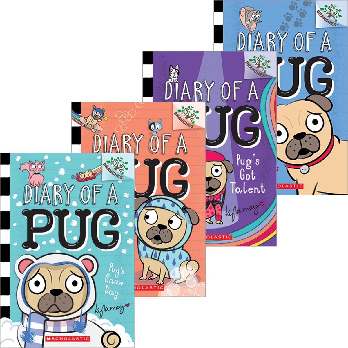 Diary of a Pug #1-#4 Pack