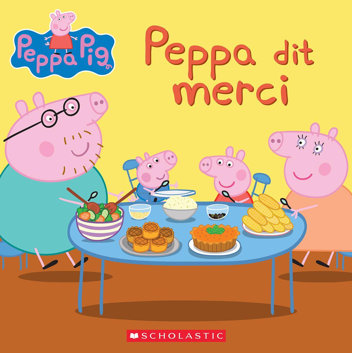 Peppa Pig : Peppa dit merci