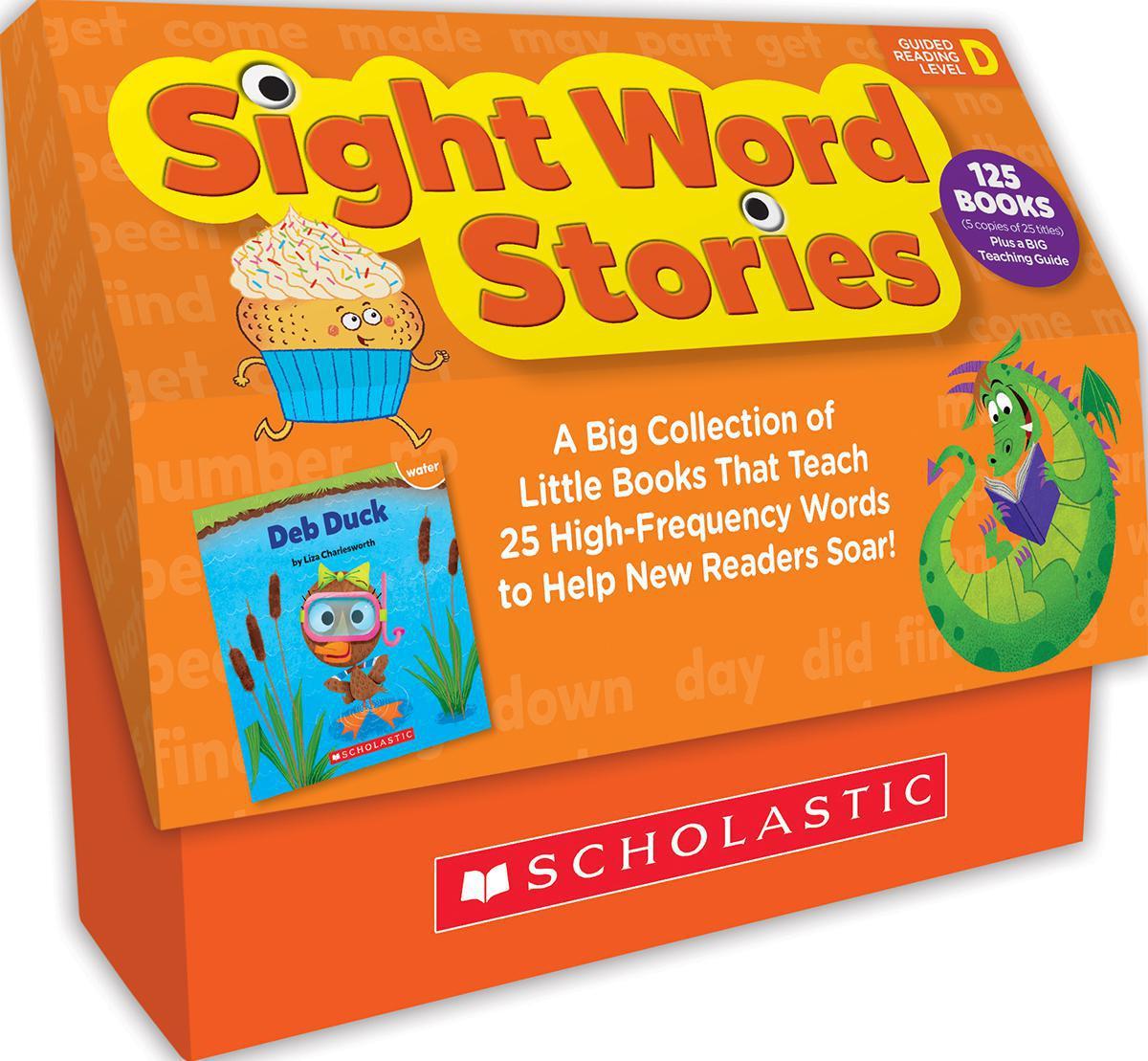 Sight Word Stories Classroom Set: Level D