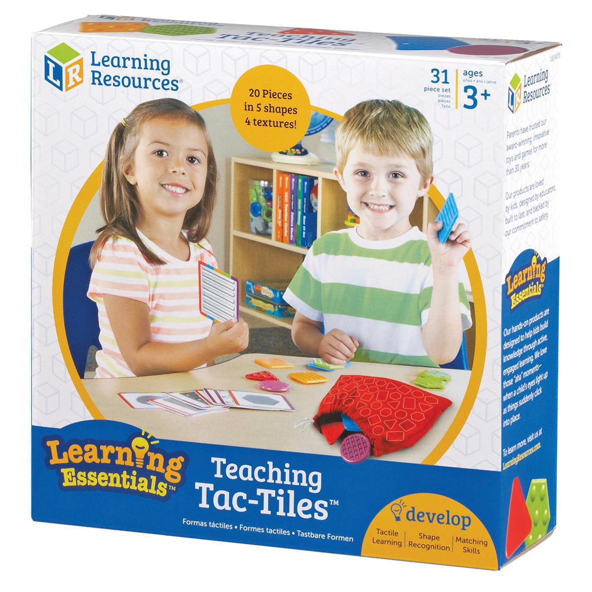 Ensemble d'apprentissage Tac-Tiles