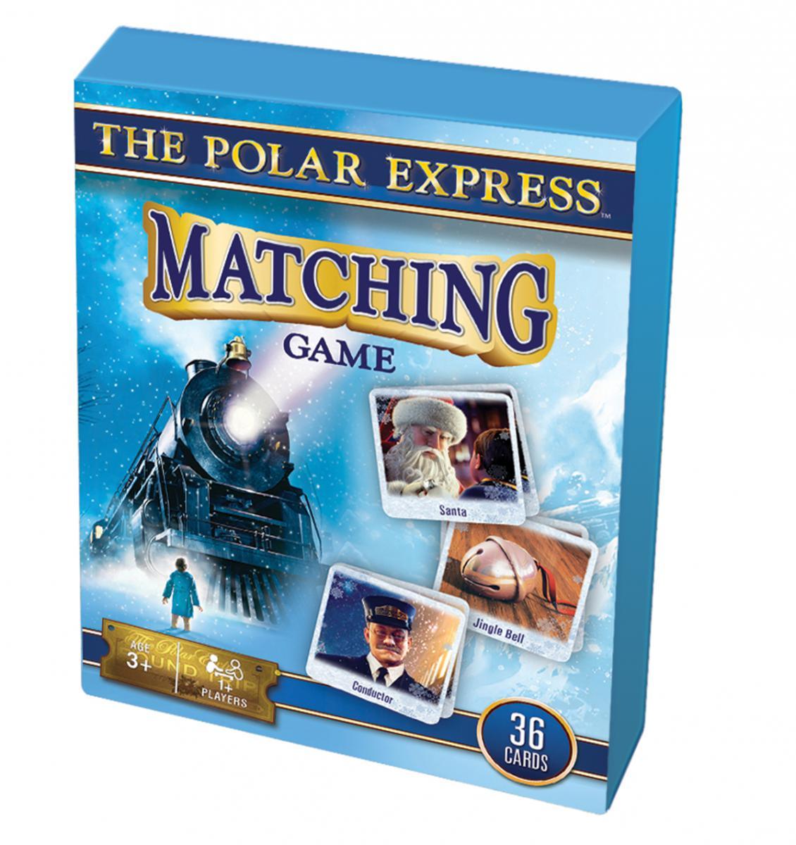 Polar Express Matching Card Game Travel Size