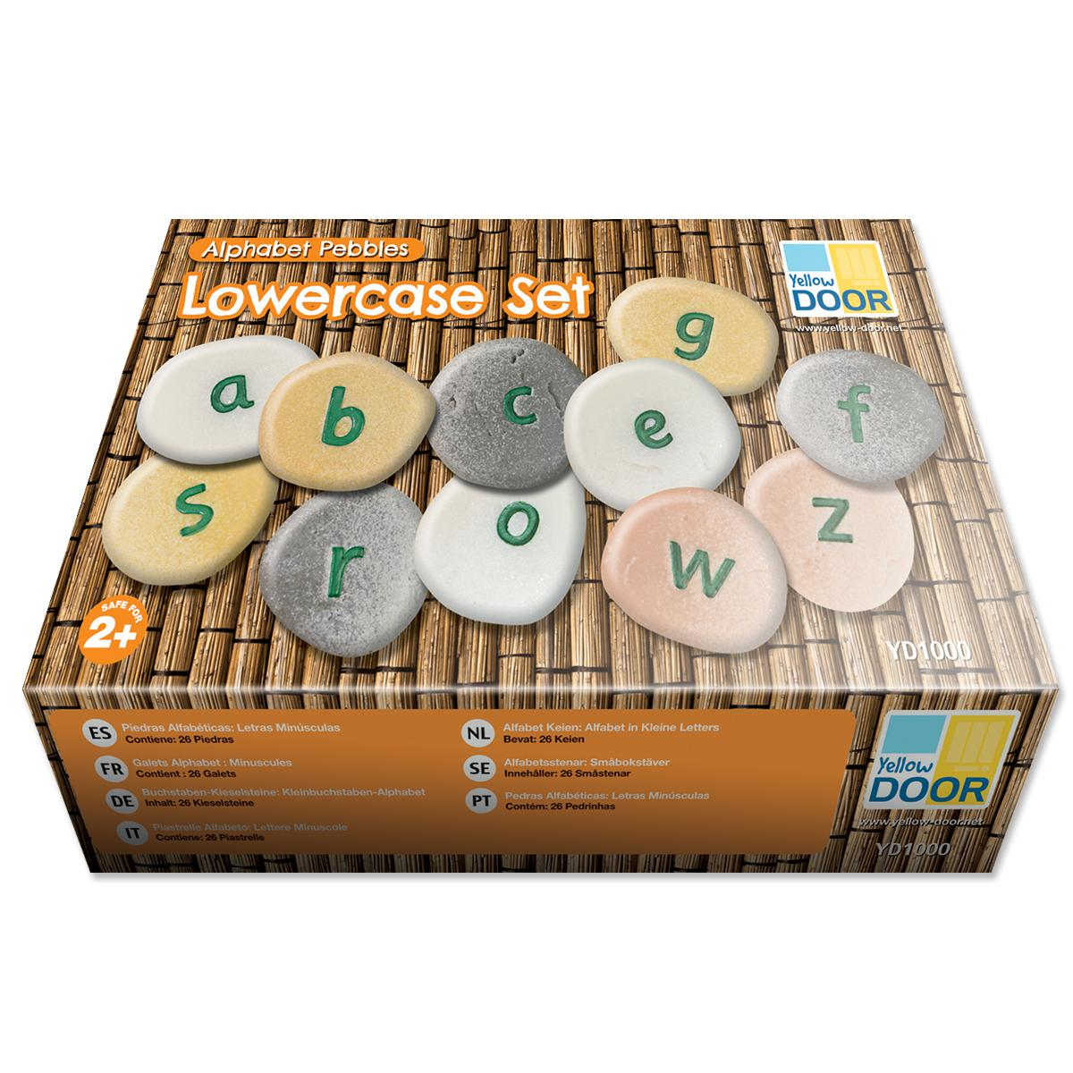 Alphabet Pebbles Lowercase
