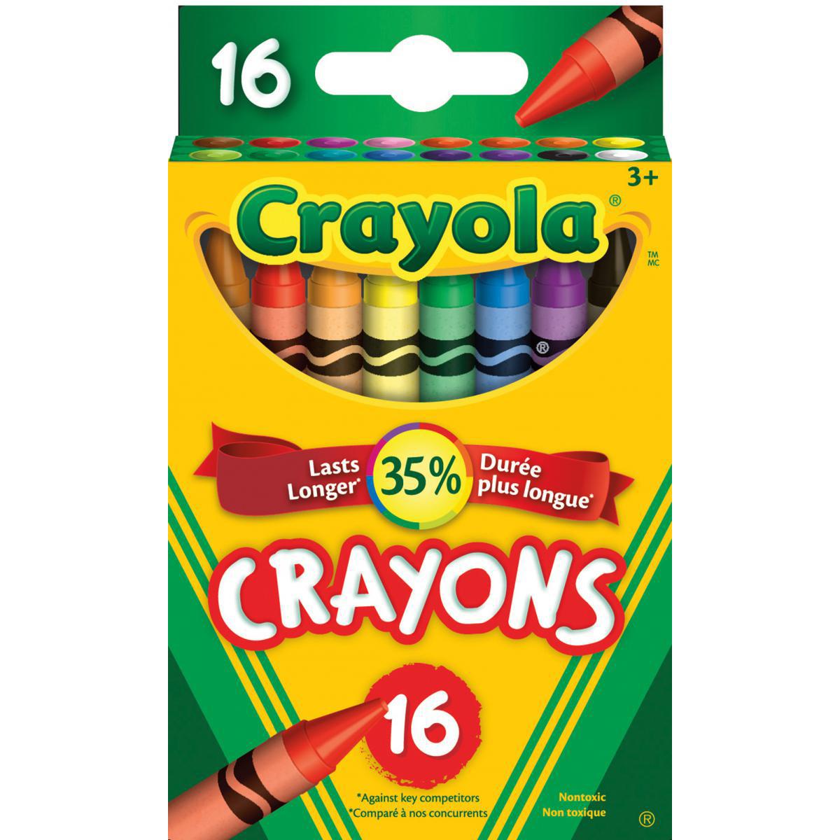 Crayons de cire Crayola® (16)