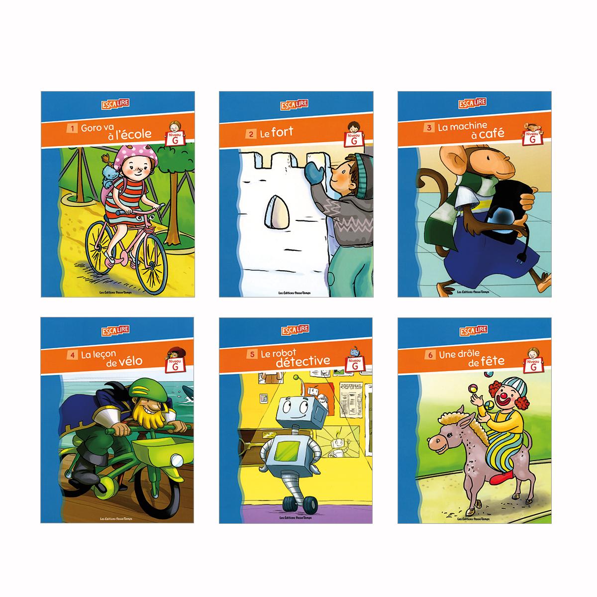 Escalire : Niveau G - Livres 1 à 6
