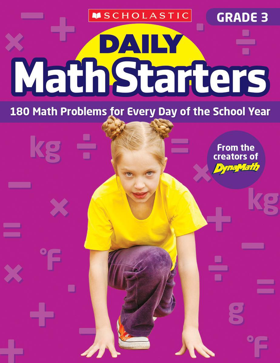 Daily Math Starters: Grade 3