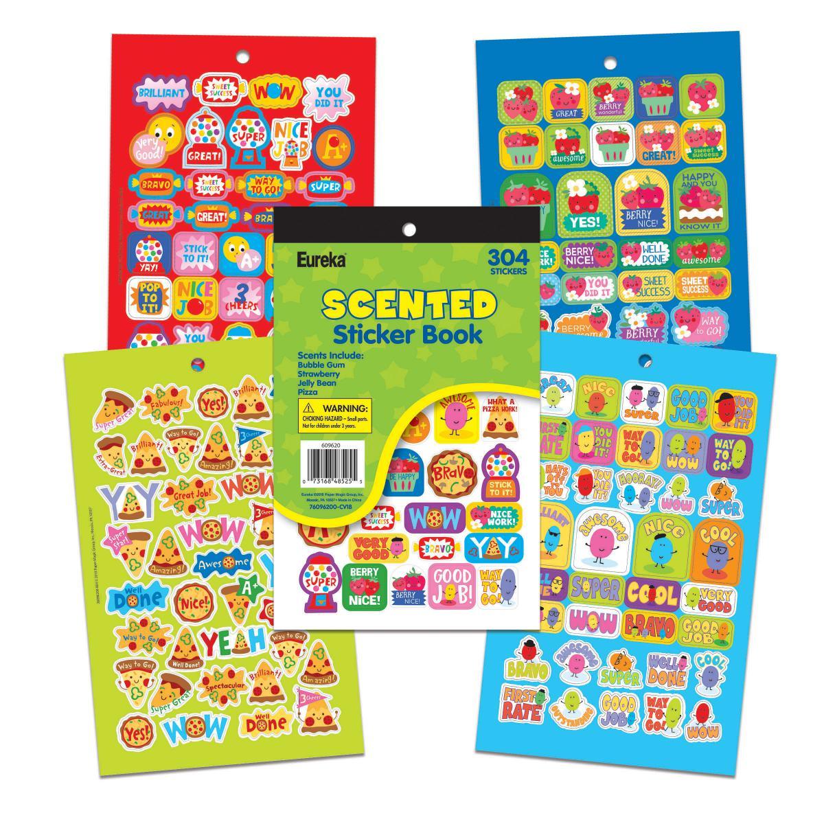 Scented Sticker Book