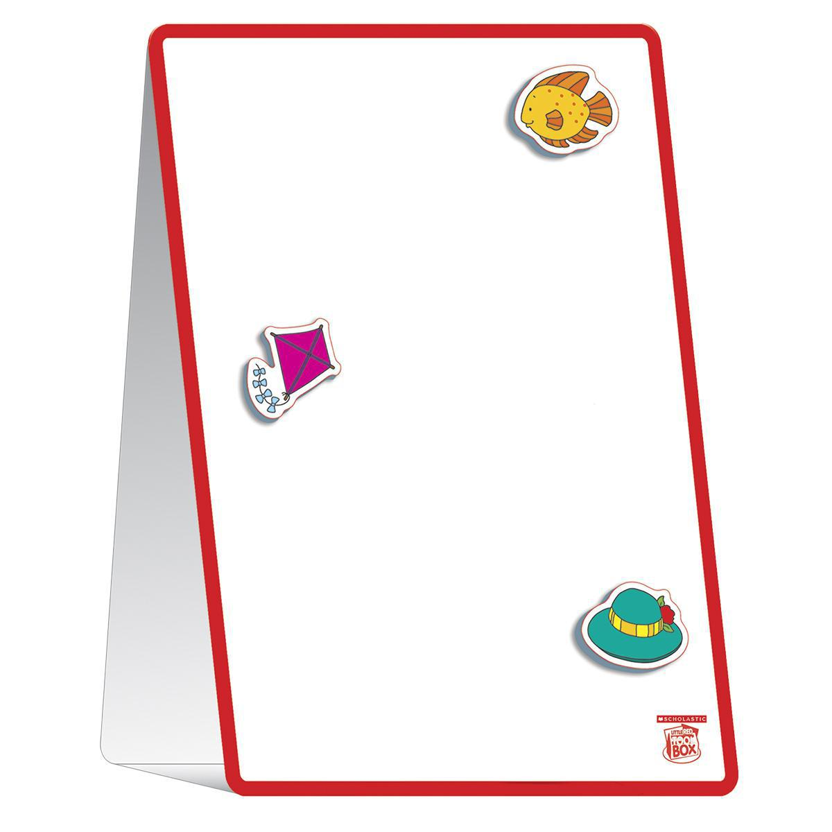 The Little Red Toolbox: Magnetic Tabletop Learning Easel