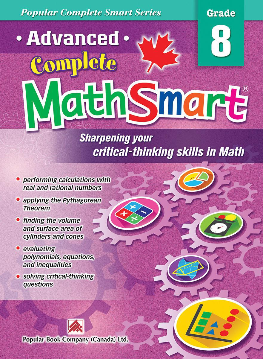 Advanced Complete MathSmart: Grade 8