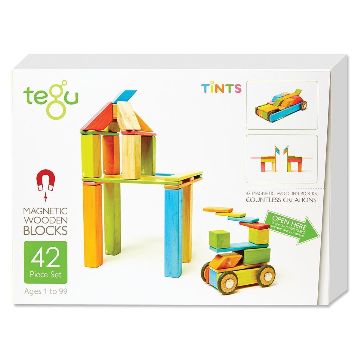 Blocs de bois magnétiques Tegu