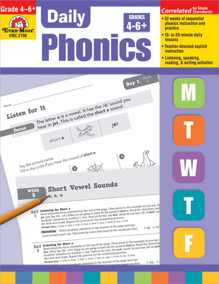 Daily Phonics Practice Grade 4-6+