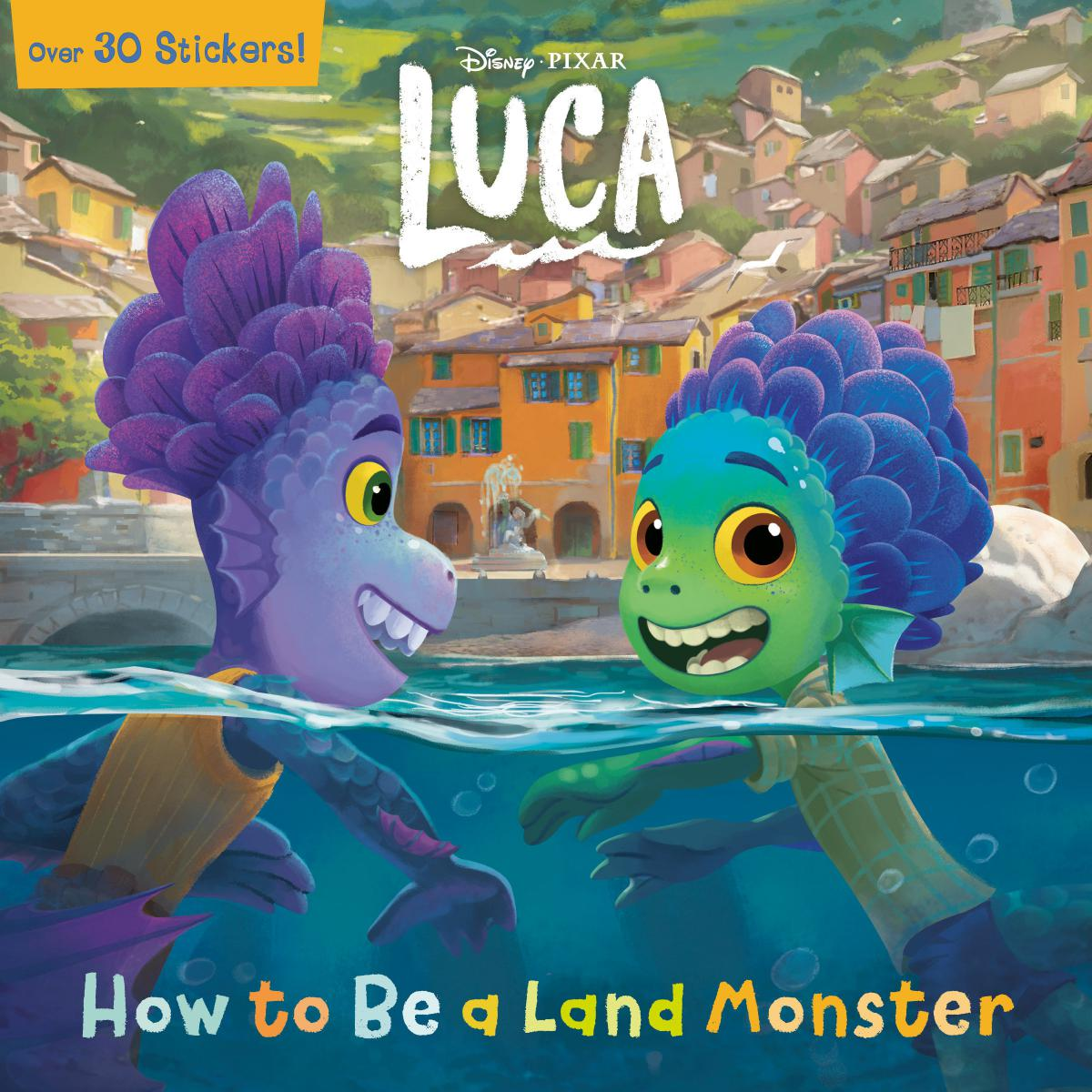 Luca: How to Be a Land Monster