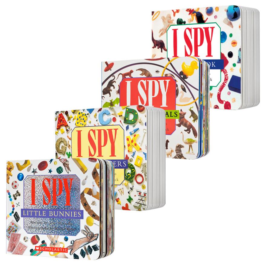 I SPY Board Book Pack