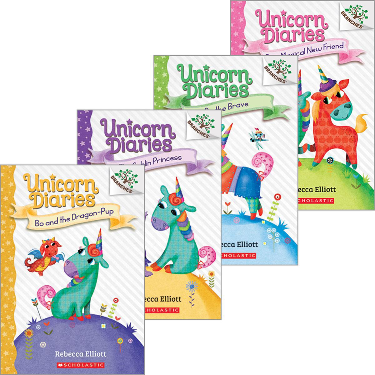 Unicorn Diaries #1-#4 Pack