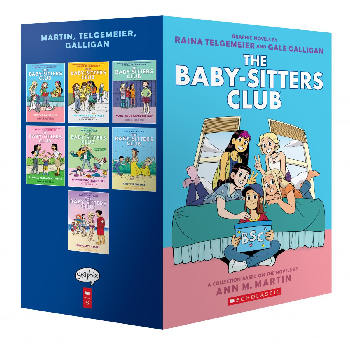 The Baby-Sitters Club® #1-#7 Boxed Set