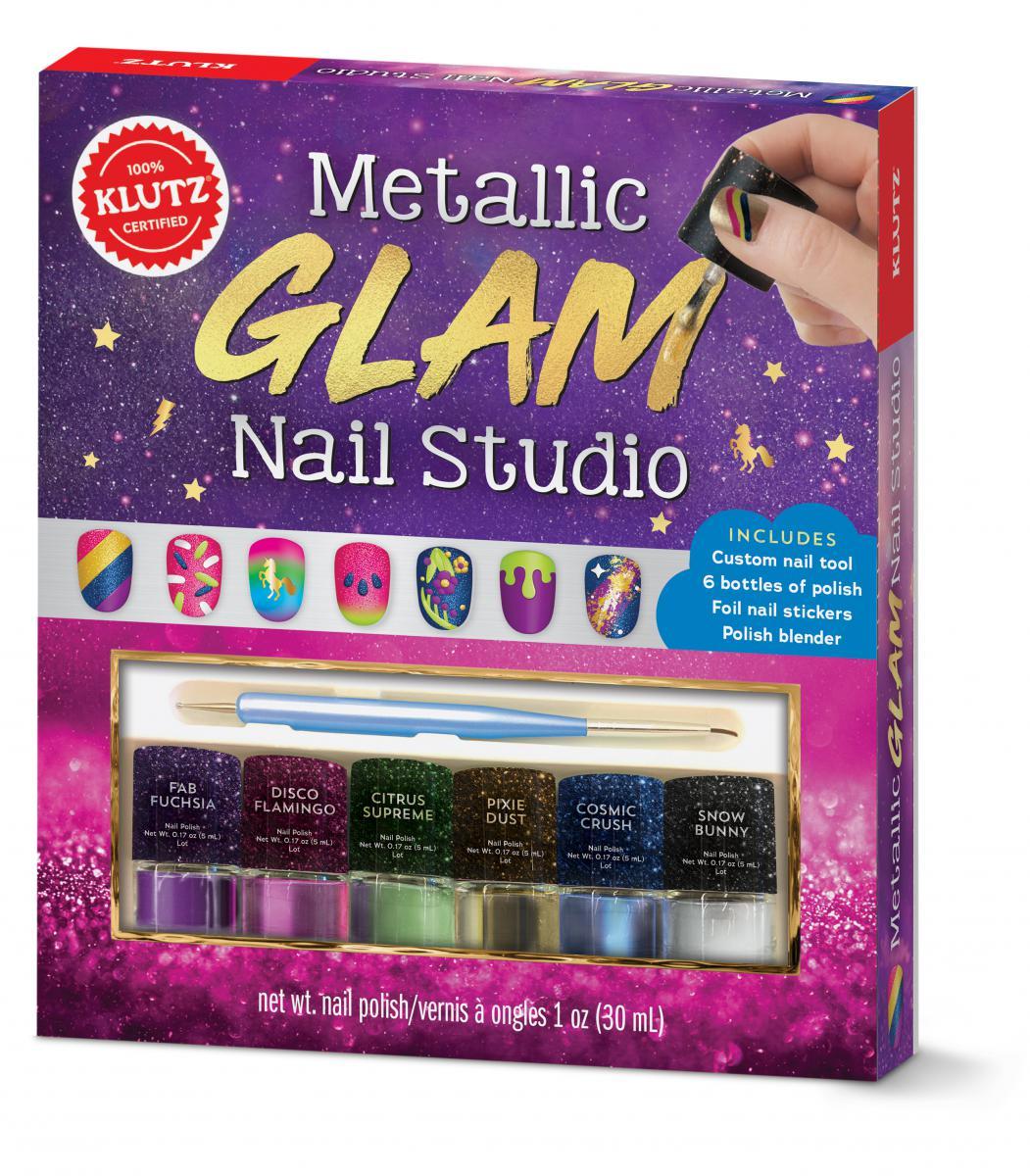 Klutz® Metallic Glam Nail Studio