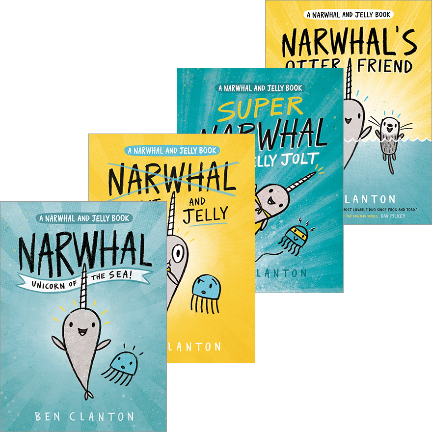 Narwhal and Jelly Pack
