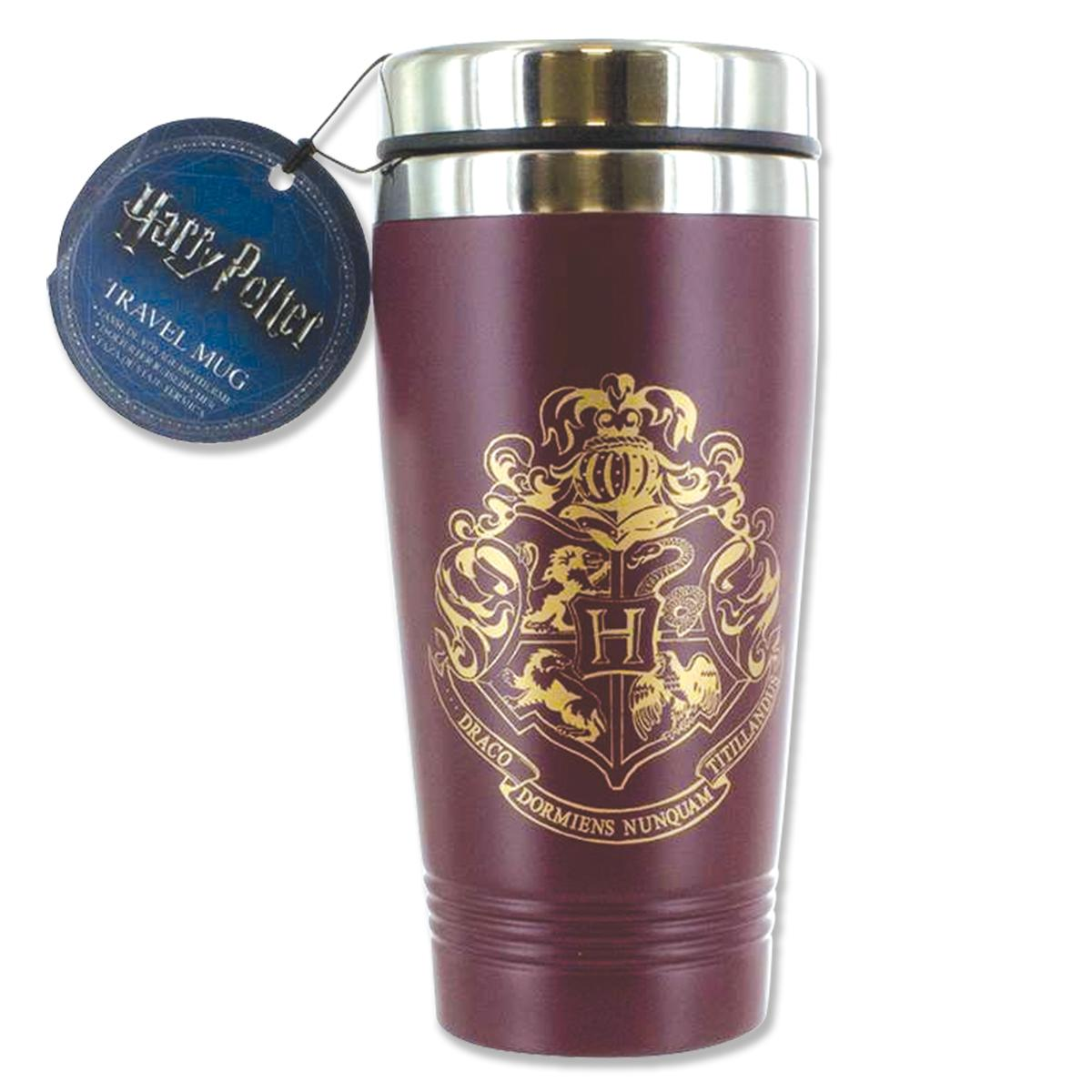 Harry Potter Hogwarts Travel Tumbler