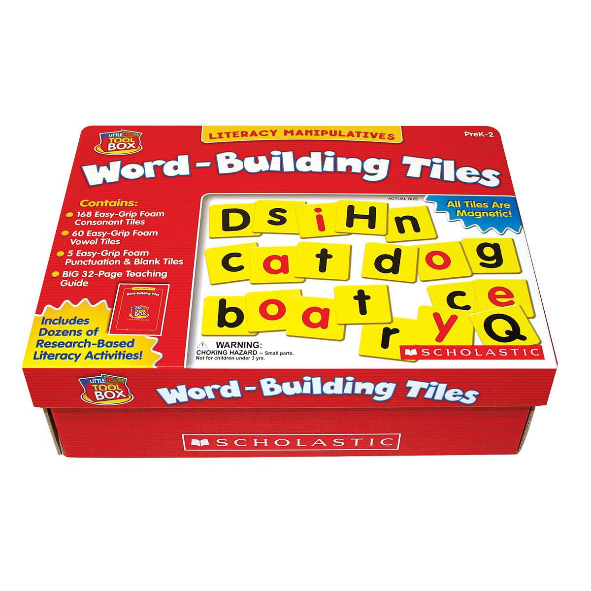 The Little Red Toolbox: Word-Building Tiles