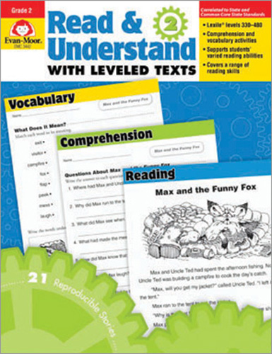 Read & Understand with Leveled Texts: Grade 2