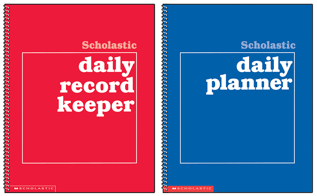 Scholastic Daily Planner & Record Keeper Pack