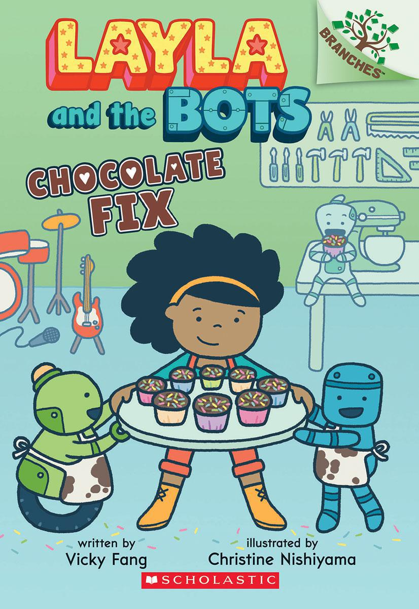 Layla and the Bots #3: Cupcake Fix