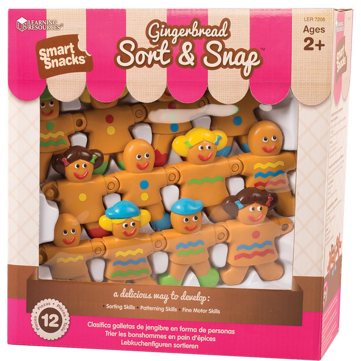 Smart Snacks: Gingerbread Sort & Snap