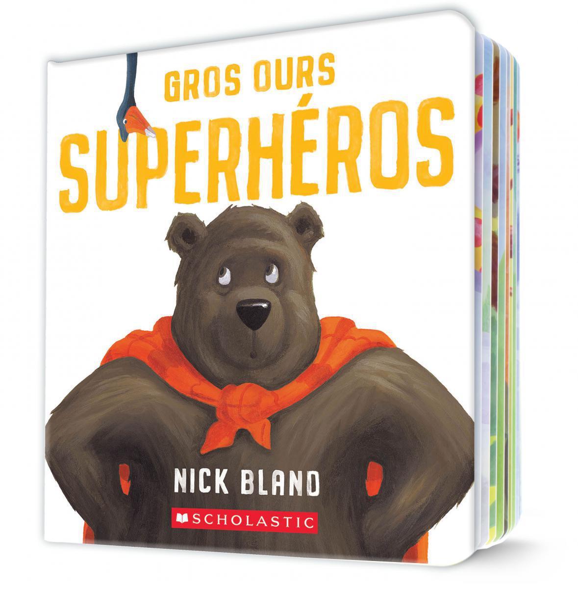 Gros Ours superhéros